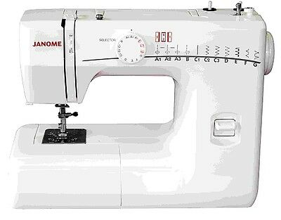 Janome RE1706 mechanical sewing machine – for beginners