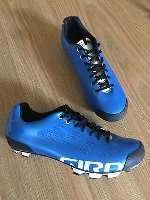 Giro Empire VR90 Electric Blue Size 41 Cycling MTB SPD Shoes