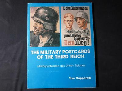 THE MILITARY POSTCARDS OF THE THIRD REICH Capparelli 1950 VG!