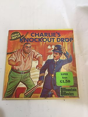 Charlie Chaplin - Charlie's Knockout Drop - Super 8 8mm B/W
