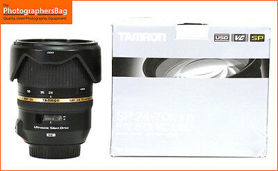Tamron SP 24-70mm f/2.8 Di VC  USD Lens for  Canon + Free UK Postage