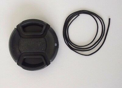 AUS STOCK - NEW 40.5mm Center Pinch Snap on Front Lens Cap For Sony etc