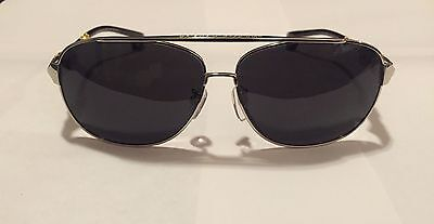 Black Gold Silver Frame Chrome Hearts Sunglasses