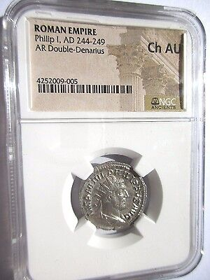 Roman Empire, Philip I, AD 244-249, Choice Almost Uncirculated