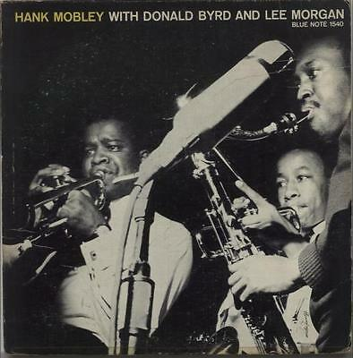 Hank Mobley vinyl LP  record Hank Mobley With Donald Byrd And Lee... USA