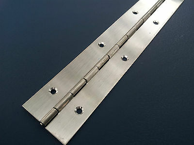 PIANO HINGE STAINLESS STEEL CABINET BOAT 400mm X 40mm CONTINUOUS HINGES
