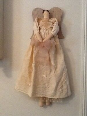 Country style angel cloth doll