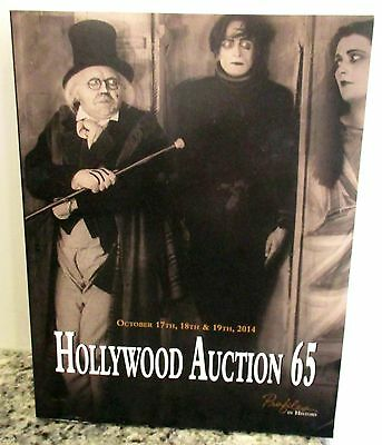 Hollywood Auction 65 Catalogue Of Preview 2014 Auction Movie Film Memorabilia