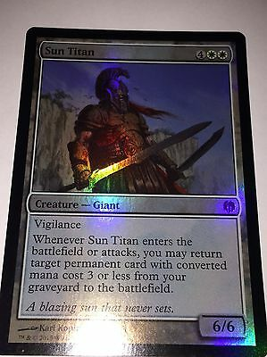 MTG - FOIL Sun Titan - Mythic Rare Magic the Gathering Card - NM