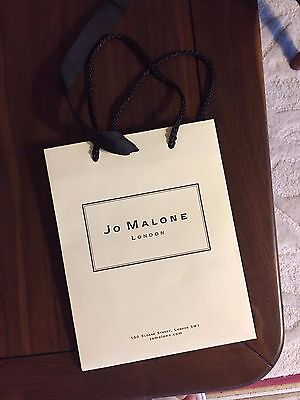 Jo Malone Paper Gift Shopping Rope String Bag  9 x 7 x 3.5