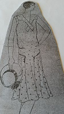 Vintage ladies Dress Pattern *1920's -Ideal Co.#132