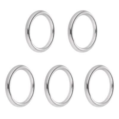 """5pcs 304 Stainless Steel Strapping Welded O Rings 0.6"""" 0.8"""" 1"""" 1.2"""" 1.4"""""""