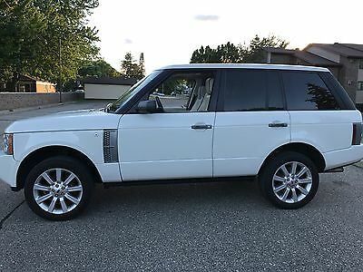 2008 Land Rover Range Rover SUPERCHARGED TV 2008 RANGE ROVER HSE SUPERCHARGED TV ENTERTAINTMENT