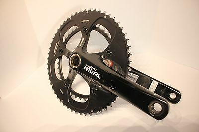 Stages power meter  Sram Rival crankset GXP 170mm 53/39T