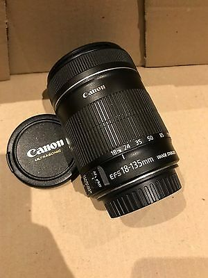 Canon EF-S 18-135mm f/3.5-5.6 IS Zoom DSLR Camera Lens