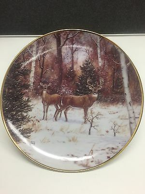 Limited Edition In Winter Woods The Franklin Mint