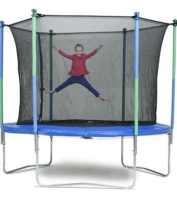A&B Box Trampoline with Enclosure Combo - 10ft.