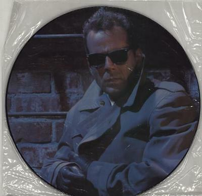 "Bruce Willis Secret Agent Man 12"" vinyl picture disc record UK ZT41438(P)"