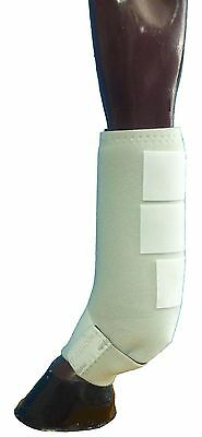 Soft Cushioned Horse  Sling Boots White  *****NEW****  Medium Or Large  ON SALE