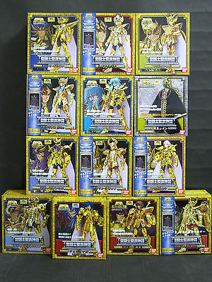 BANDAI  Saint Seiya Myth Cloth Gold Saint figure complete 13 set