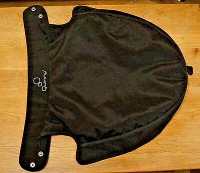 Quinny Carrycot Apron - Black - Very Good Condition