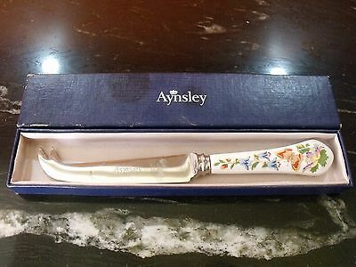 Aynsley Cottage Garden Cheese Knife Boxed