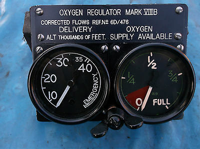 ww2 raf replica mk8 oxygen regulator for spitfire hurricane panel export model