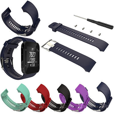 Silicone Replacement Wrist Band Strap For Garmin Forerunner 35 Sports GPS Watch