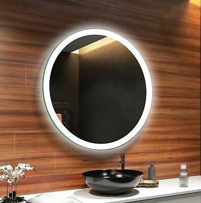 LED Illuminated Bathroom Mirror L76 To Measure Custom Size