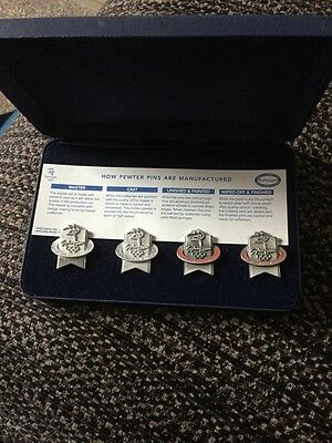 Sydney 2000 Pewter Pins Boxed