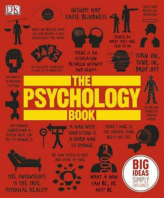 The Psychology Book by DK (Hardback, 2012) University Textbook Urban Outfitters
