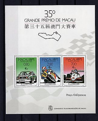 P28835/ Macao – Bloc Sg # Ms684 Neuf Luxe / Mint Mnh 136 €