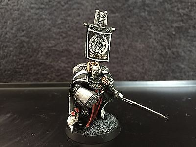 Warhammer 40k Space Marines Iron Hands Captain Fully painted