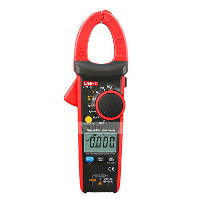 UNI-T UT216C True RMS Digital Clamp Meter Tester AC/DC 600A