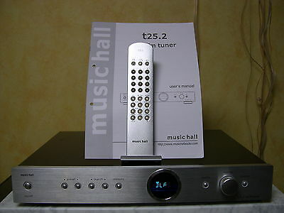 Music Hall T 25.2   *** AM/FM RDS Stereo-Tuner ***
