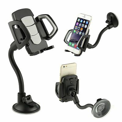 360° Universal Rotating Car Windshield Mount Holder Stand for Mobile Cell Phones