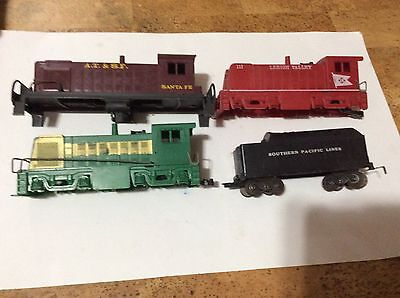 Marx O scale: 3 -  Diesel Plastic engine shells & Southern Pacific tender