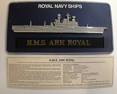 Collection of Royal Navy posters and plaque