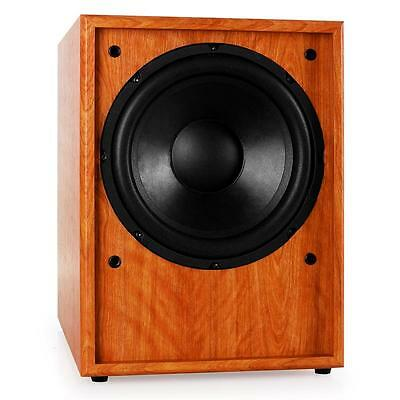 """10"""" Hi-Fi Home Cinema Active Subwoofer Sound System 150W Rms Frontfire Bass Sub"""