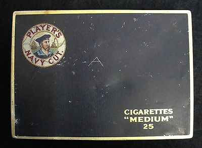 Players Navy Cut cigarette tin