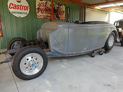 Ford 1936 Roadster & Chassis Tubbed Suit Hot Rod Rat Rod Drag Car Project