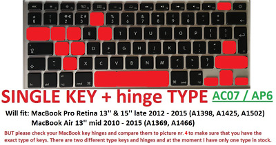 SG1 Single laptop key with hinge and cup for keyboard Samsung R610