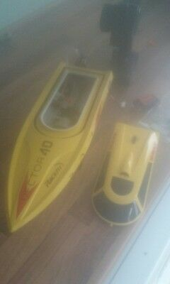 Rc brushed speed boat