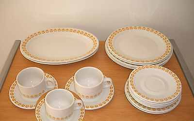 ***Vintage Old Telecom Telstra Plates Cups Set*** Made in Australia