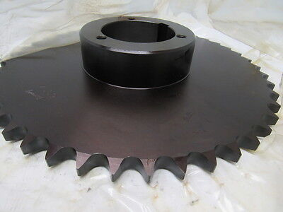 "Browning 60Q45 Roller Chain Sprocket 45 tooth 3/4"" Pitch Split Taper"