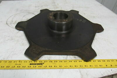 "6 Tooth 13"" Pitch Overhead Conveyor/Chain Sprocket  3"" Keyed Bore"