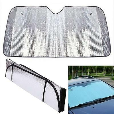 Front Car Sun Shade Blind Protector Window Sunscreen Visor Cover Mesh Shield YM