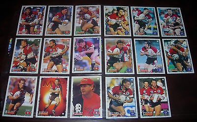 NORTH SYDNEY BEARS 17 PLAYER CARDS~1995 Series 1 & 2 Rugby League Cards