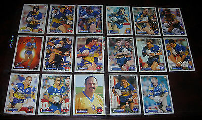 PARRAMATTA EELS 17 PLAYER CARDS~1995 Series 1 & 2 Rugby League Cards
