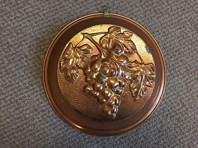 Copper Jelly Moulds